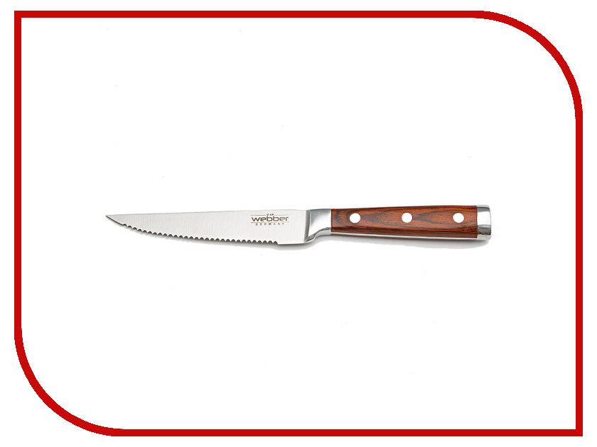 Нож Webber Империал ВЕ-2220G - длина лезвия 114mm кухонная принадлежность webber консервный нож ве 5245