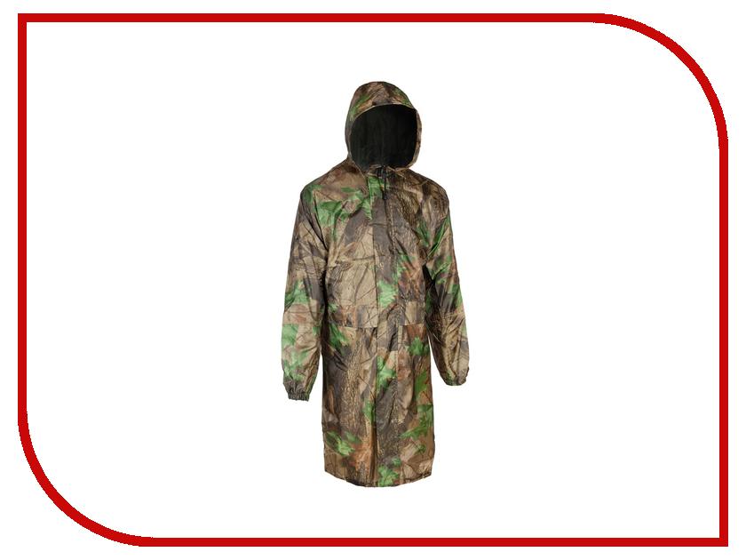 Плащ-дождевик Vostok р.52 Лес 7-6-309 плащ дождевик water proofline hunter wpl 7 105 р 56 58 182 188 camouflage