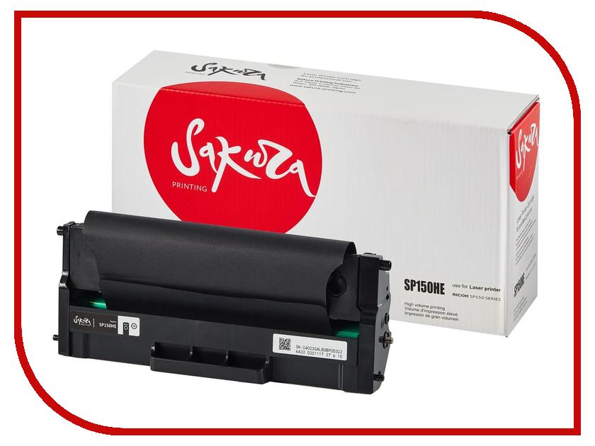 Картридж Sakura SASP150HE Black для Ricoh SP 150/150SU 1500к картридж sakura sasp150he black для ricoh sp 150 150su 1500к