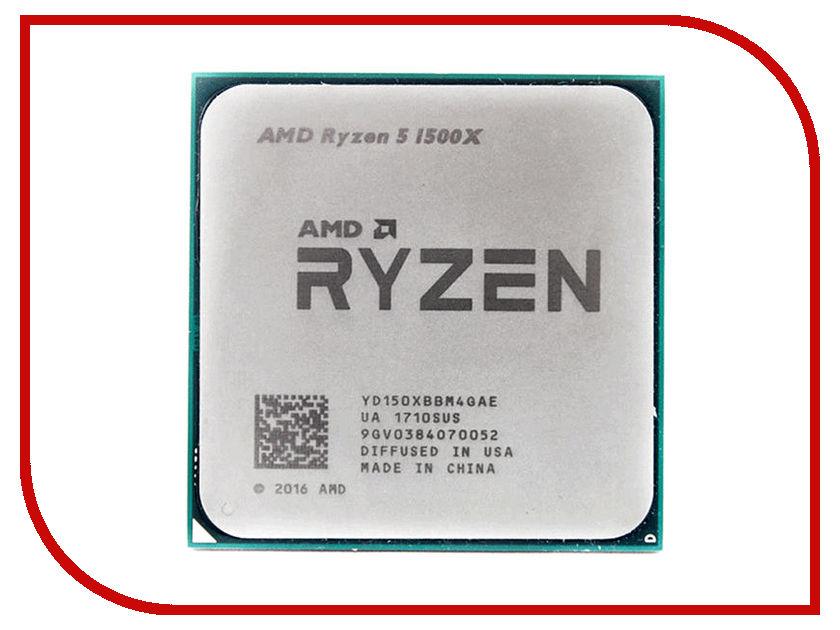 Процессор AMD Ryzen 5 1500X OEM YD1500XBBM4GAE amd wraith spire купить