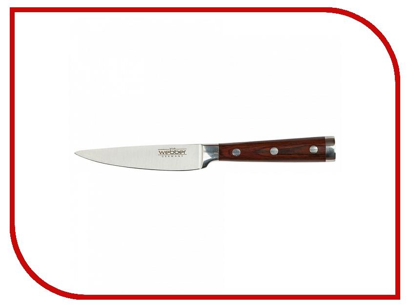 Нож Webber Империал ВЕ-2220E длина лезвия 90mm кухонная принадлежность webber нож для нарезки яблок ве 5241