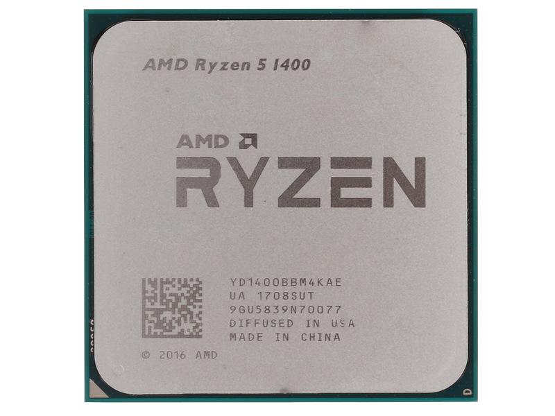 Процессор AMD Ryzen 5 1400 YD1400BBM4KAE OEM