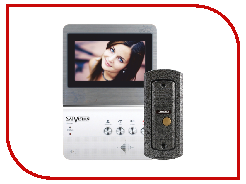 Видеодомофон Satvision SVM-403HOME