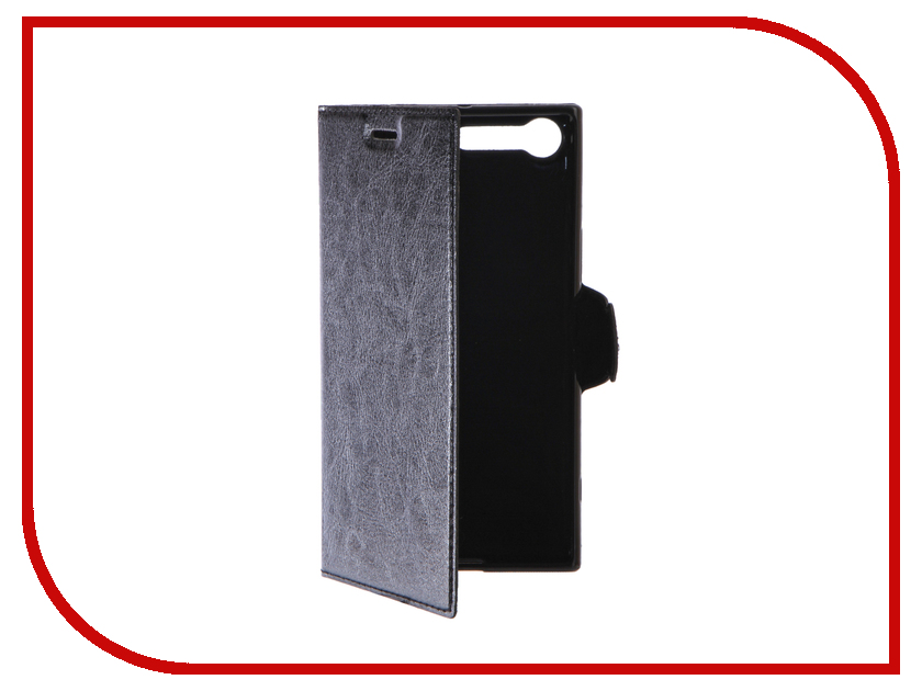 Аксессуар Чехол Sony Xperia XZ Premium Red Line Book Type Black