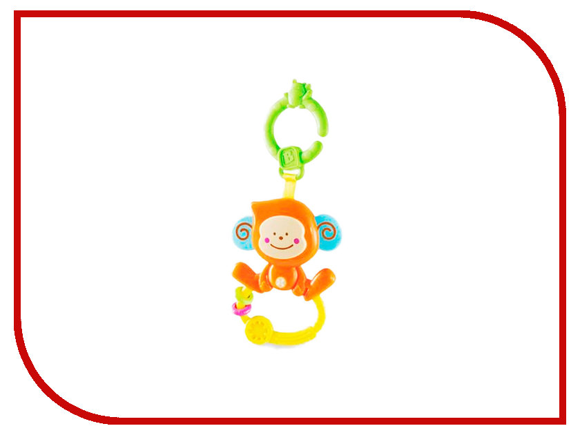 Игрушка B Kids Веселая обезьянка, с колечком 004499B игрушка черепашка b kids