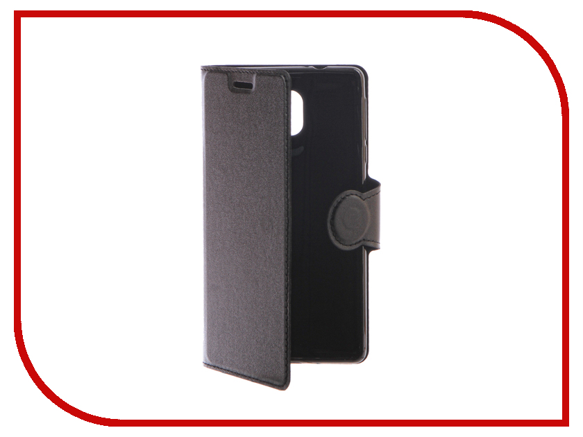 Аксессуар Чехол Nokia 3 Red Line Book Type Black аксессуар чехол sony xperia xa1 red line book type black