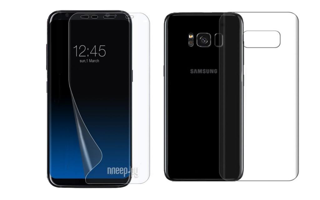Аксессуар Защитная пленка Red Line для Samsung Galaxy S8 6.2 Plus Full Screen Front&Back УТ000010655 mont blanc femme individuelle