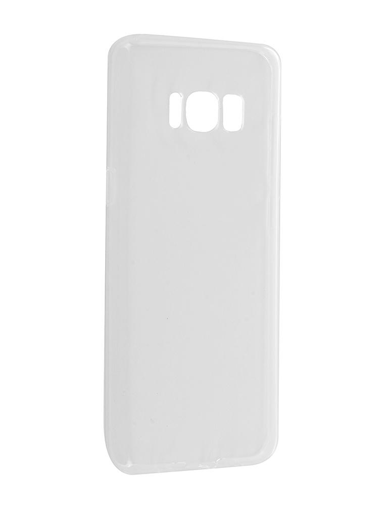 Аксессуар Чехол iBox Crystal Silicone для Samsung Galaxy S8 Transparent аксессуар чехол ibox crystal silicone для samsung galaxy a7 2018 transparent ут000016499