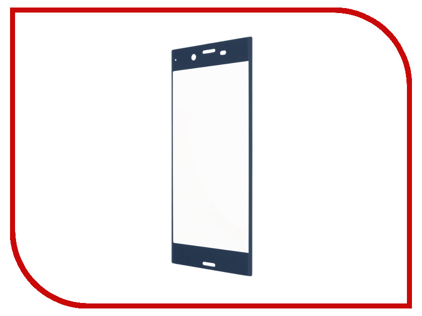 Аксессуар Защитное стекло Sony Xperia XZs Red Line Full Screen Tempered Glass Light Blue комплект белья 2 х сп sova