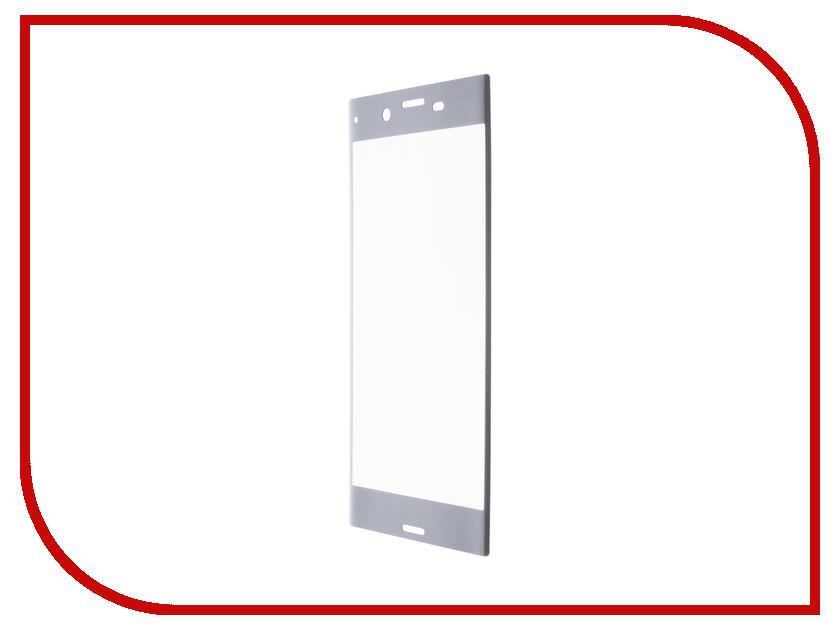 Аксессуар Защитное стекло Sony Xperia XZ Premium Red Line Full Screen Tempered Glass Grey смартфон sony xperia xz premium