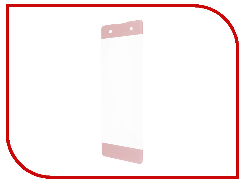 Аксессуар Защитное стекло Sony Xperia XA1 Red Line Full Screen Tempered Glass Pink
