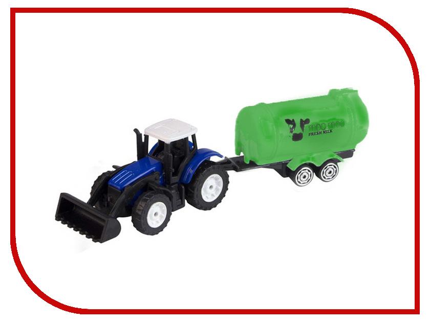 Игрушка HTI Roadsterz Трактор + трейлер 1373060.UNI_bochka Green hti мусоровоз roadsterz