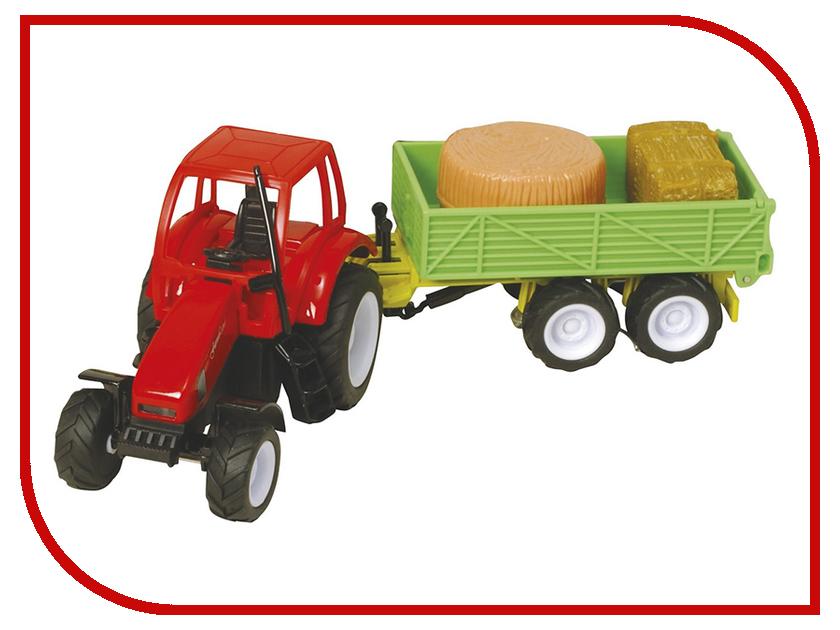 Игрушка HTI Roadsterz Трактор с прицепом TP268 Green hti мусоровоз roadsterz