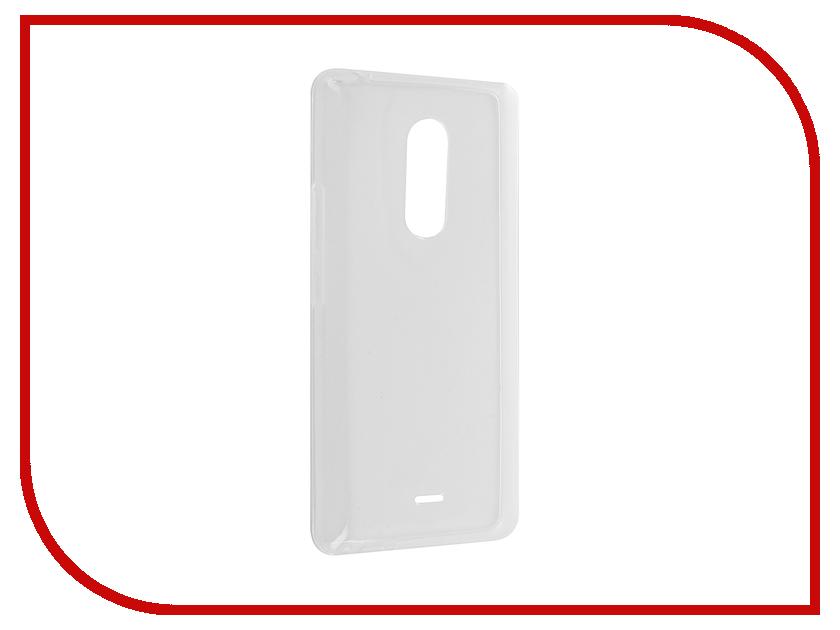 Аксессуар Чехол BQ BQS 5050 Selfie iBox Crystal Silicone Transparent