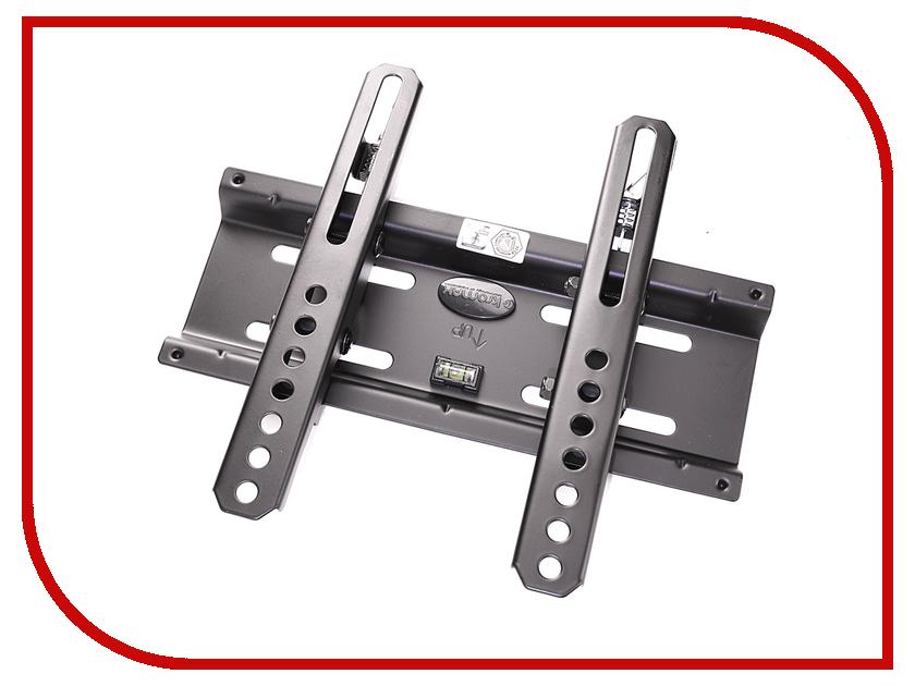 Кронштейн Kromax Flat-6 (до 35кг) Black кронштейн настенный kromax flat 2 grey kromax flat 2
