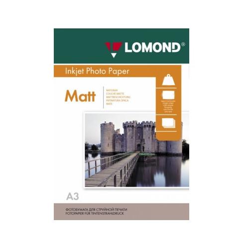 Фотобумага Lomond A3 230g/m2 матовая одностороняя 50 листов 102156