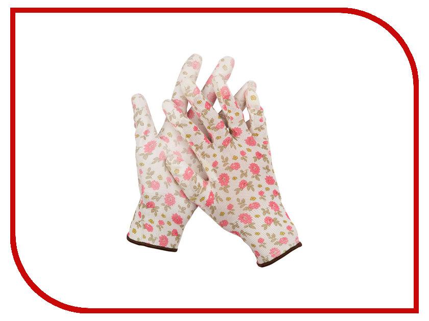 Аксессуар Перчатки Grinda 11291-M White-Pink