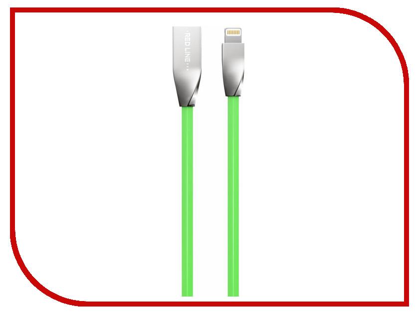 Аксессуар Red Line Smart High Speed USB - 8 pin Green