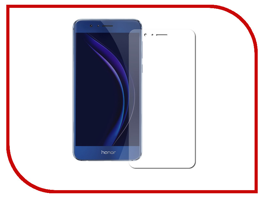 Аксессуар Защитное стекло Huawei Honor 8 Pro 5.7 Red Line Tempered Glass  аксессуар защитное стекло huawei honor 7 cojess glass pro 0 33mm