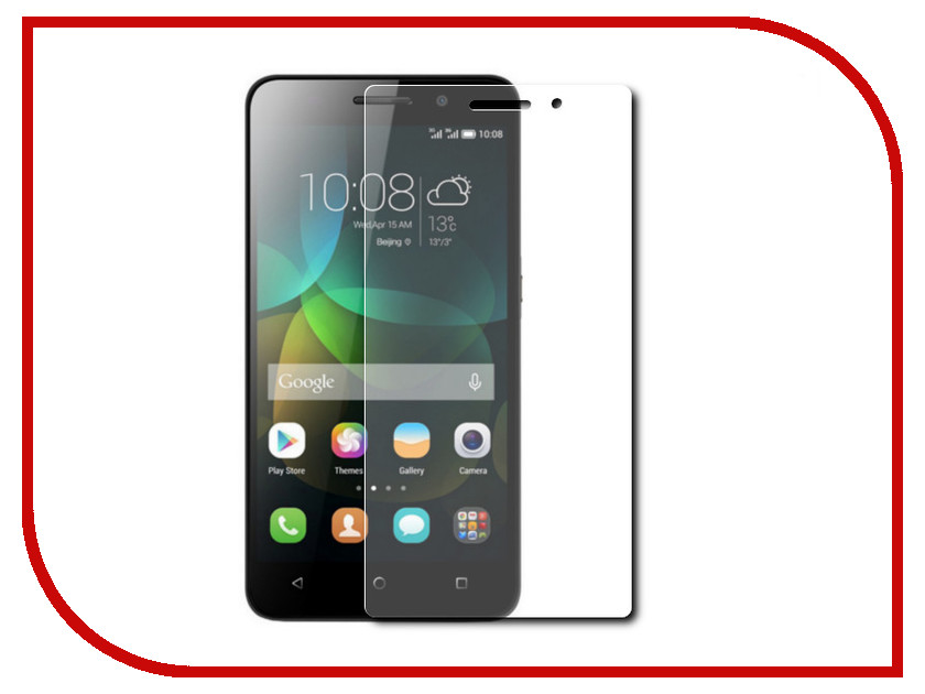 Аксессуар Защитное стекло Huawei Honor 4C Pro 5 Red Line Tempered Glass сотовый телефон huawei honor 8 pro black