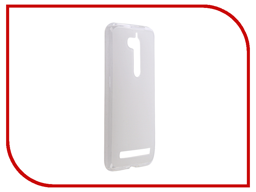 Аксессуар Чехол ASUS ZenFone Go ZB500KG iBox Crystal Silicone Transparent