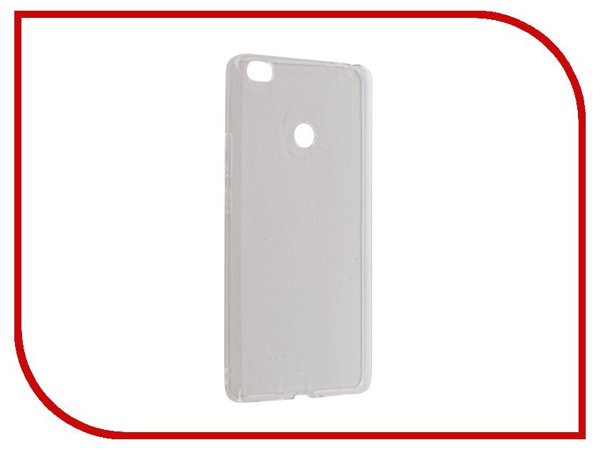Аксессуар Чехол Xiaomi Mi Max iBox Crystal Silicone Transparent аксессуар чехол microsoft lumia 650 ibox crystal transparent