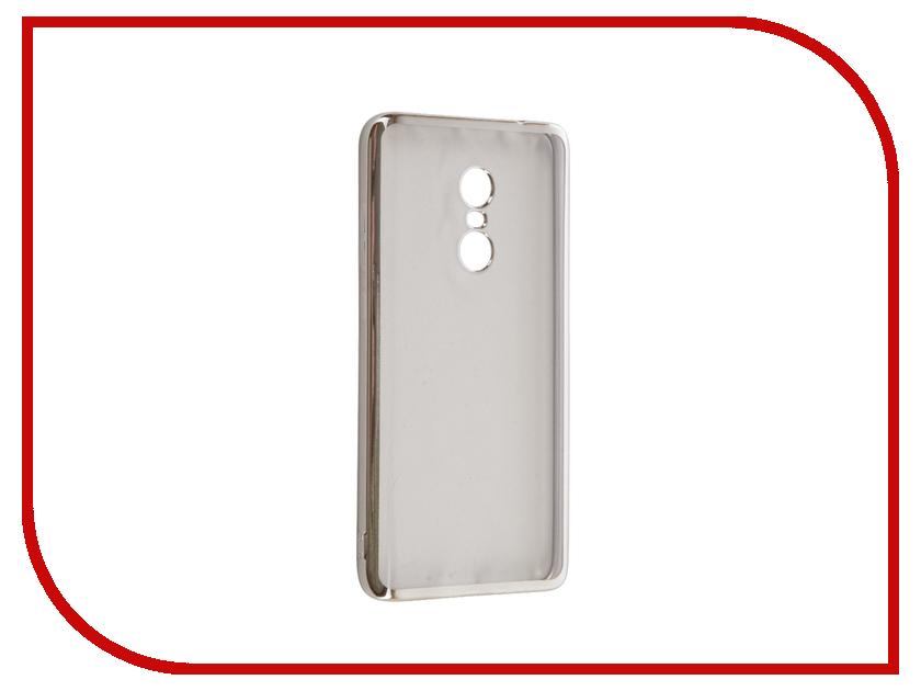 Аксессуар Чехол Xiaomi Redmi Note 4 iBox Blaze Silicone Silver frame косметические маски cattier cattier маска очищающая для проблемной кожи туба 75 мл
