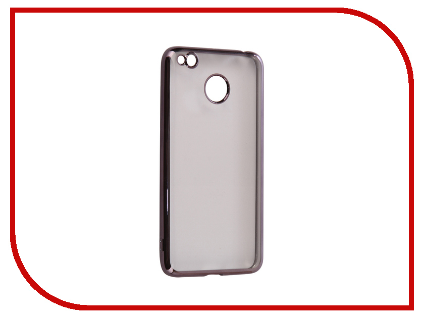 Аксессуар Чехол Xiaomi Redmi Note 3/Note 3 Pro iBox Blaze Silicone Black frame аксессуар чехол xiaomi redmi 3 3 pro ibox crystal grey