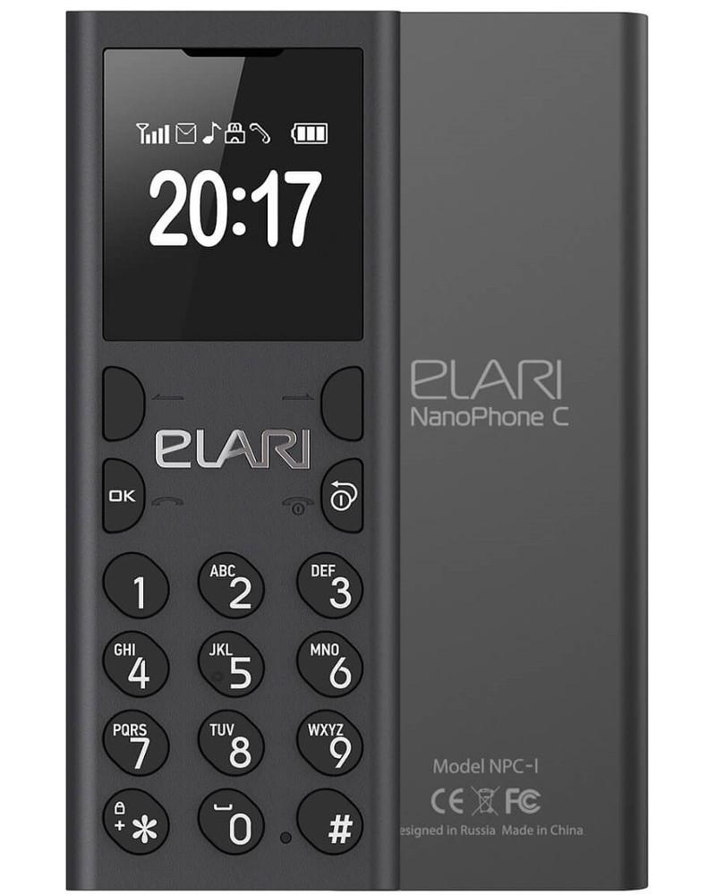 Сотовый телефон Elari NanoPhone C Black