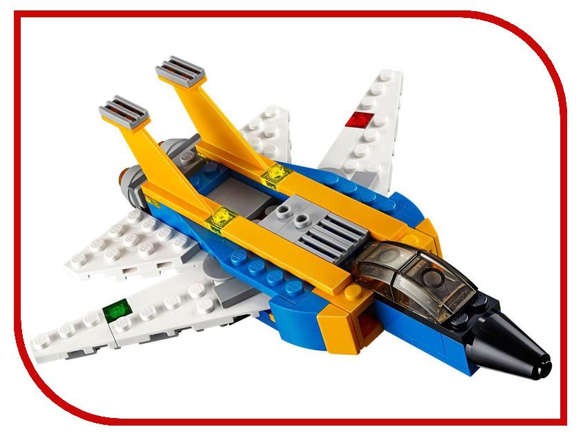 Конструктор Lego Creator Реактивный самолет 31042 конструкторы lego lego lego creator кемпинг 31052