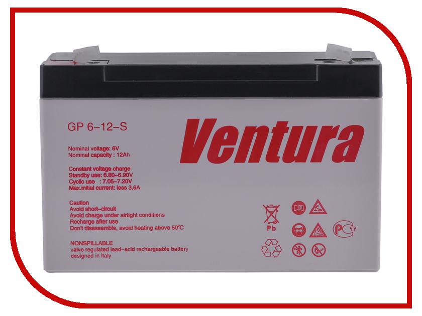 Аккумулятор для ИБП Ventura GP 6-12-S аккумулятор для ибп ventura hr 1290w