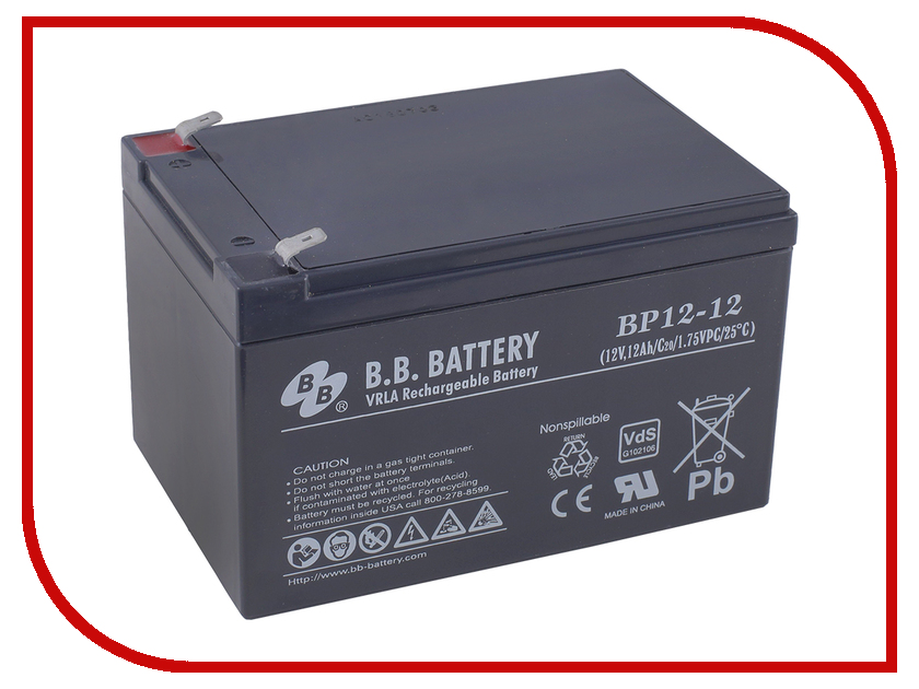 Аккумулятор для ИБП B.B.Battery BP 12-12