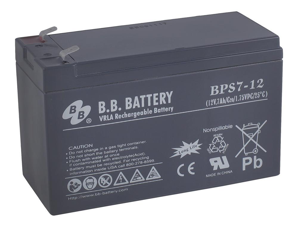 Аккумулятор для ИБП B.B.Battery BPS 7-12 аккумулятор для ибп ventura gpl 12 120