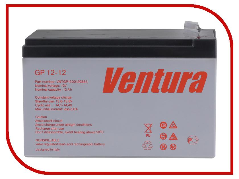 Аккумулятор для ИБП Ventura GP 12-12 аккумулятор для ибп ventura hr 1290w