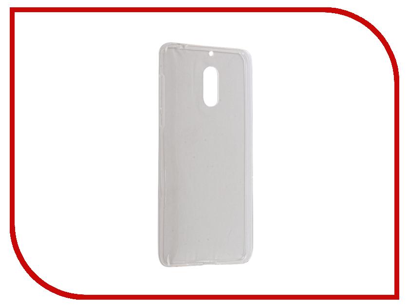 для Microsoft / Nokia   Аксессуар Чехол Nokia 6 iBox Crystal Silicone Transparent