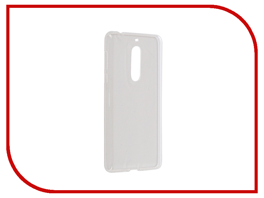 Аксессуар Чехол Nokia 5 iBox Crystal Silicone Transparent аксессуар чехол lenovo vibe s1 ibox crystal transparent