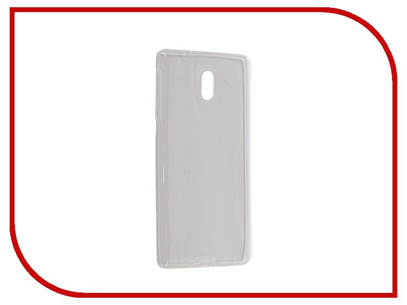 Аксессуар Чехол Nokia 3 iBox Crystal Silicone Transparent аксессуар чехол lenovo vibe s1 ibox crystal transparent