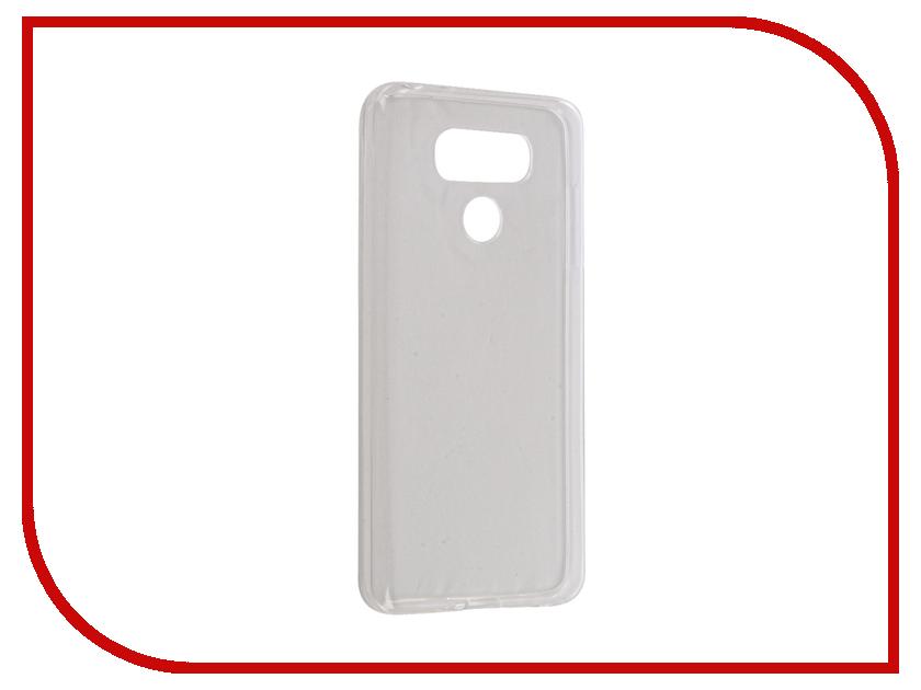 Аксессуар Чехол LG G6 iBox Crystal Silicone Transparent аксессуар чехол lenovo vibe s1 ibox crystal transparent