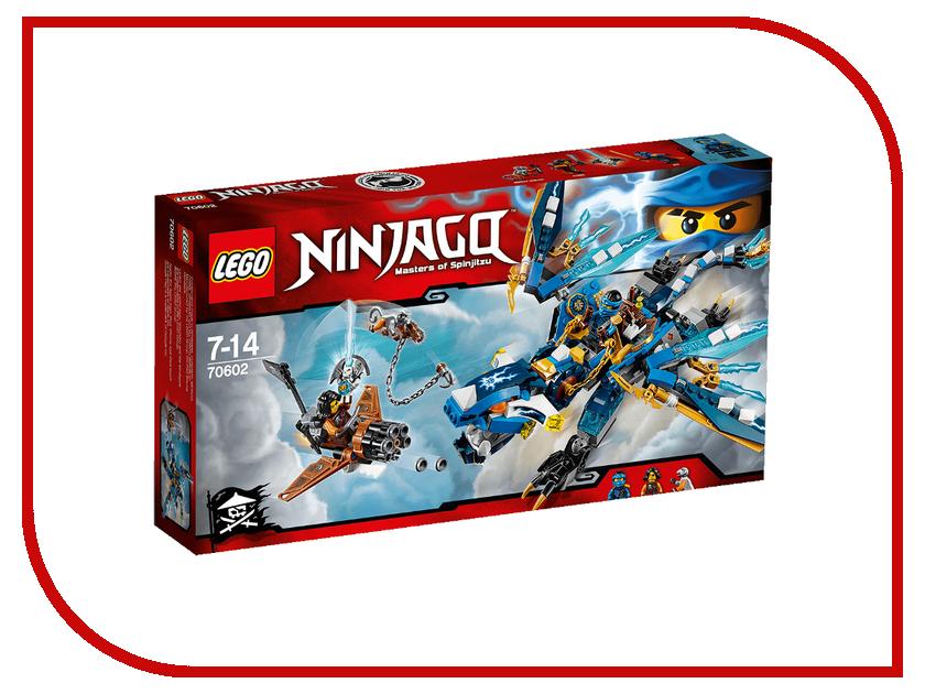Конструктор Lego Ninjago Дракон Джея 70602 конструктор lego ninjago дракон джея 350 элементов 70602