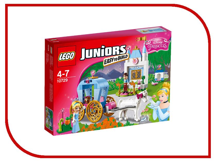 Конструктор Lego Juniors Карета Золушки 10729 lego juniors конструктор финальная гонка флорида 500 10745