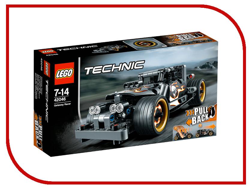 Конструктор Lego Technic Гоночный автомобиль для побега 42046 lego technic конструктор гоночный автомобиль для побега