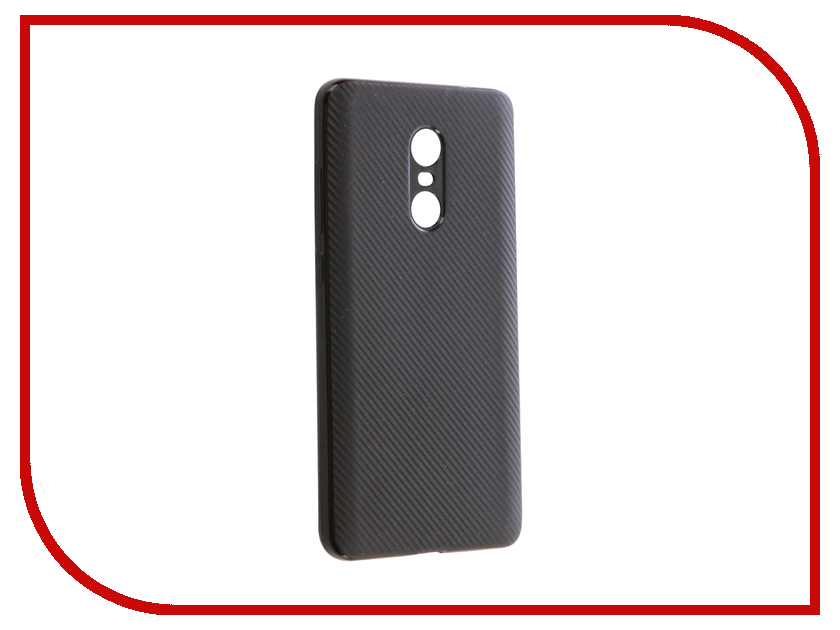 Аксессуар Чехол Xiaomi Redmi Note 4X Zibelino Cover Back Carbon Black ZCBC-XIA-RDM-NOT4X-BLK аксессуар чехол xiaomi redmi 4x zibelino classico black zcl xia rdm 4x blk