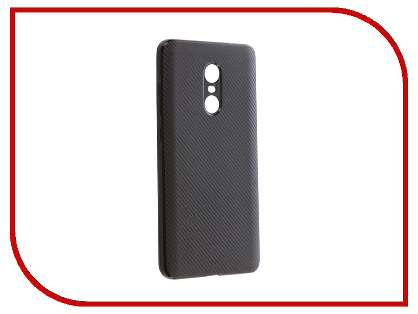 Аксессуар Чехол Xiaomi Redmi Note 4X Zibelino Cover Back Carbon Black ZCBC-XIA-RDM-NOT4X-BLK аксессуар чехол xiaomi redmi note 4 zibelino classico black zcl xia not4 blk