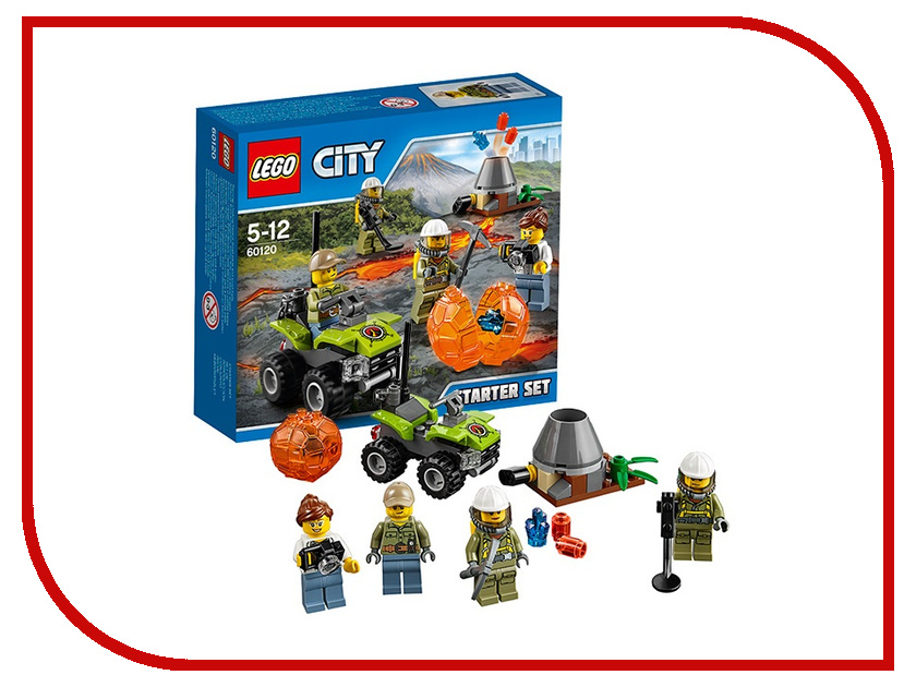 Конструктор Lego Исследователи Вулканов 60120 lego city 60120