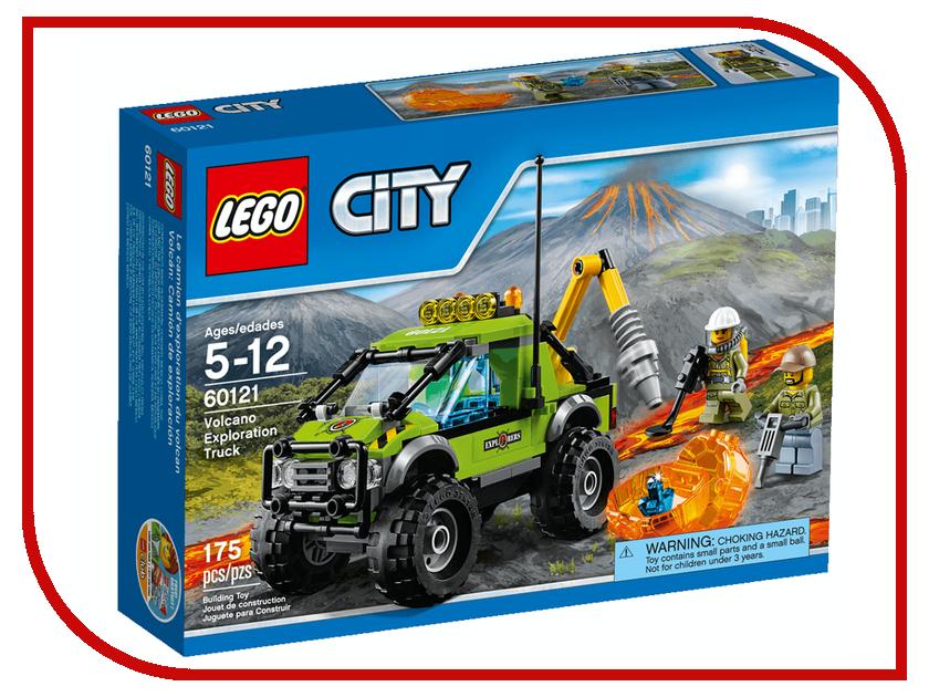 Конструктор Lego Грузовик исследователей вулканов 60121