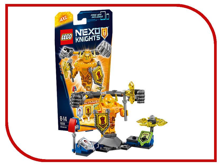 Конструктор Lego Nexo Knights Аксель Абсолютная сила 70336