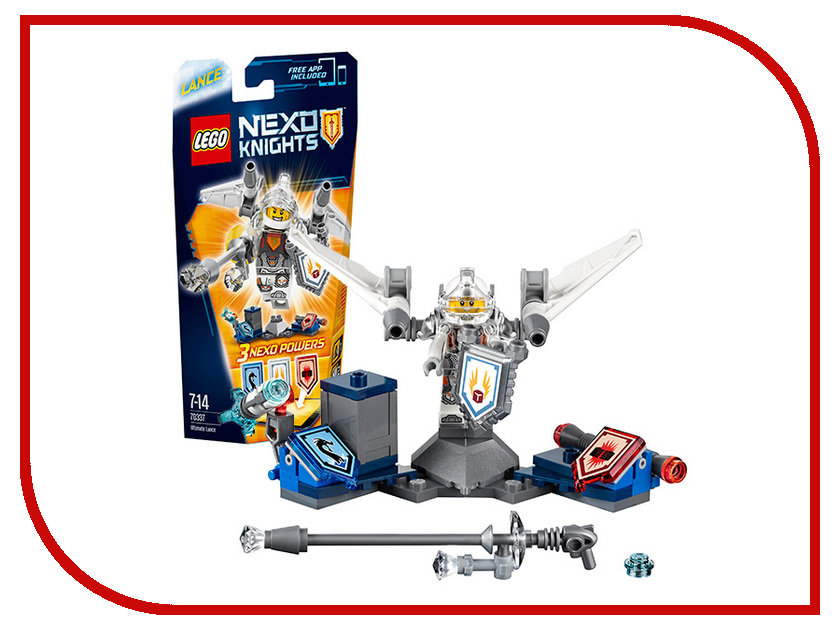 Конструктор Lego Nexo Knights Ланс Абсолютная сила 70337