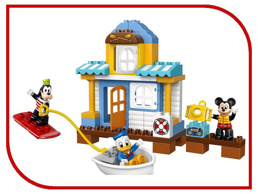 конструкторы lego lego duplo disney tm гоночная машина микки 10843 Конструктор Lego Duplo Disney TM Домик на пляже 10827