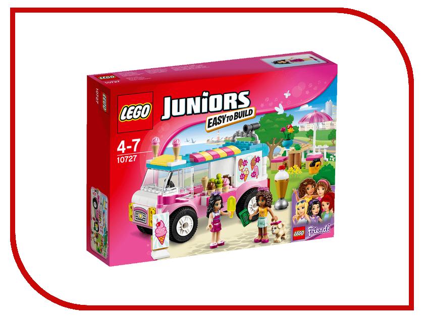 Конструктор Lego Juniors Грузовик с мороженым Эммы 10727