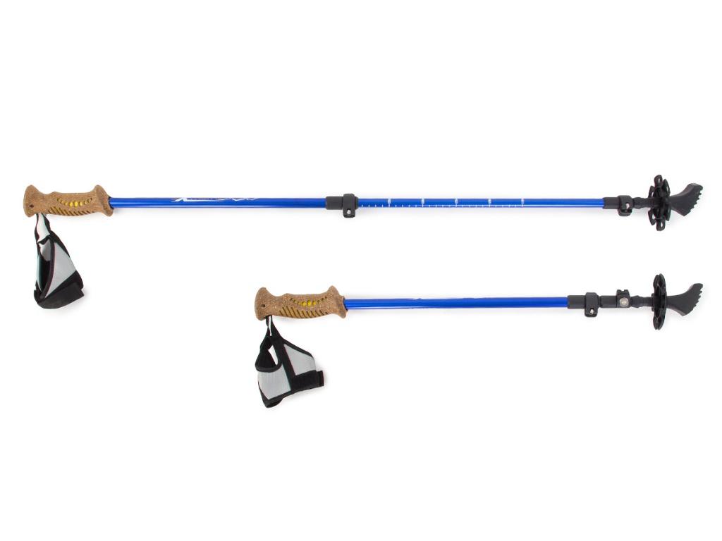 Палки Larsen Extreme 3-х секц. 70-140cm + чехол